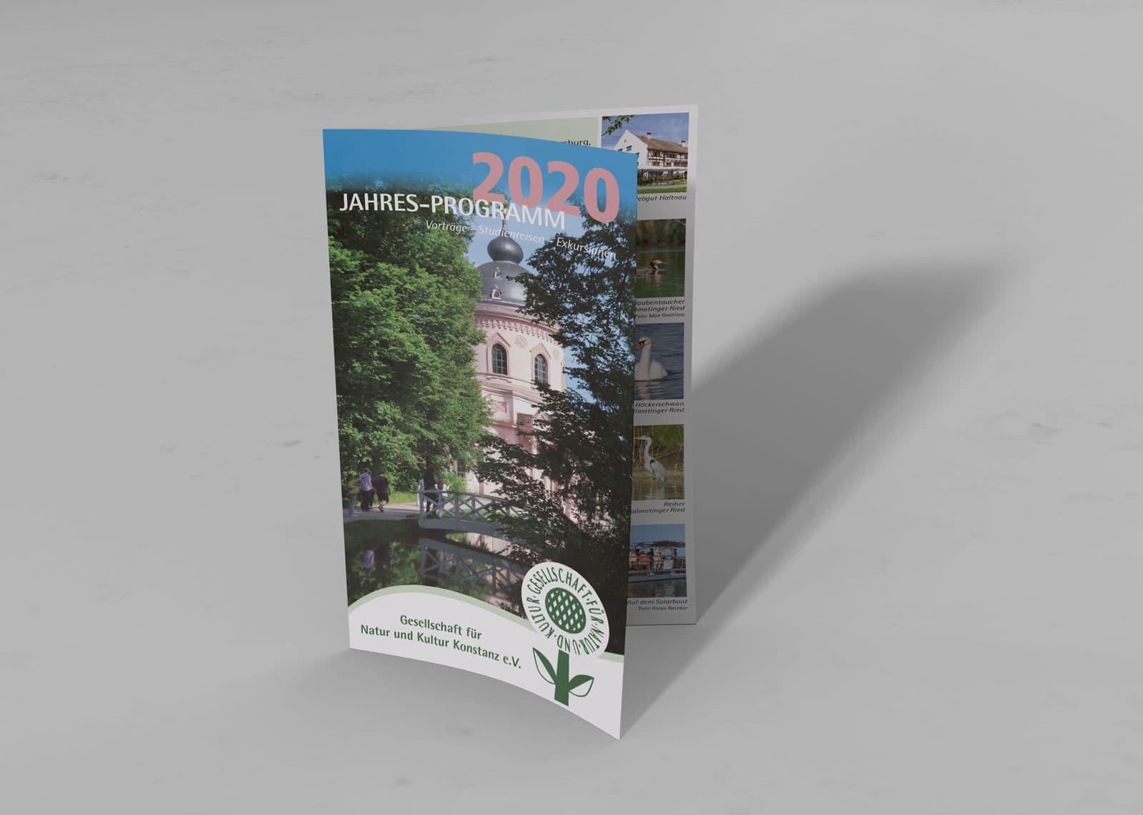Jahresprogramm 2020 Flyer